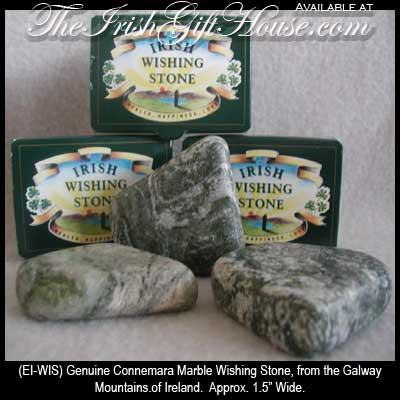 Connemara Marble Wishing Stone Irish Gifts