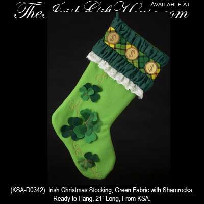 Irish Christmas Stockings