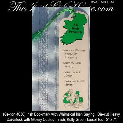 Irish blessing irish bookmark with an irish saying m4hsunfo