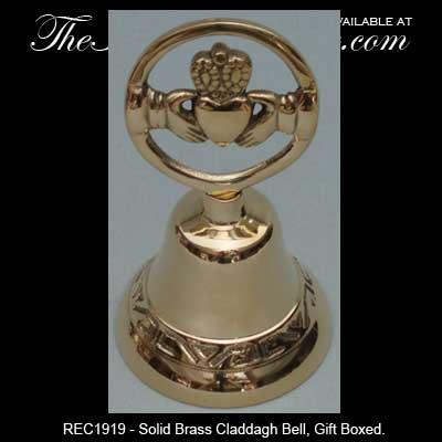 Br Irish Wedding Bell Claddagh