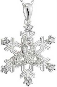 Celtic Snowflake Jewelry