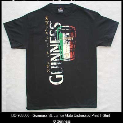 785643162f6 Guinness St. James Gate T-Shirt - Black