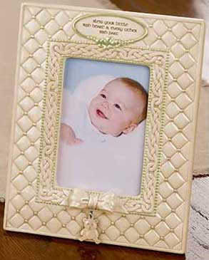 Irish Baby Picture Frame - Blessing