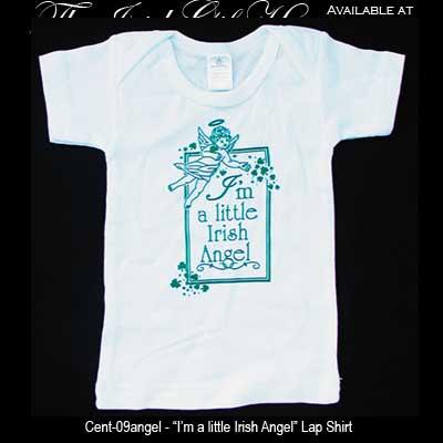 Irish Angel Baby Lap Shirt Irish Baby Clothing