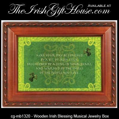 Irish Jewelry Box Musical Irish Gifts