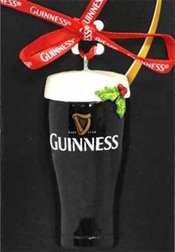 Guinness Pint Christmas Decoration Christmas Tree Ornament