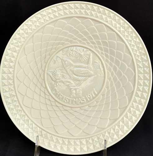 belleek christmas plate 1977 - Christmas Plates