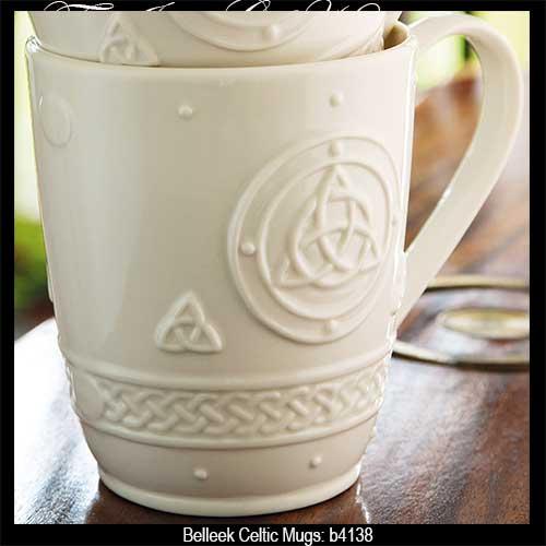 belleek-mugs-celtic-dinnerware-a & Belleek Mugs: Celtic
