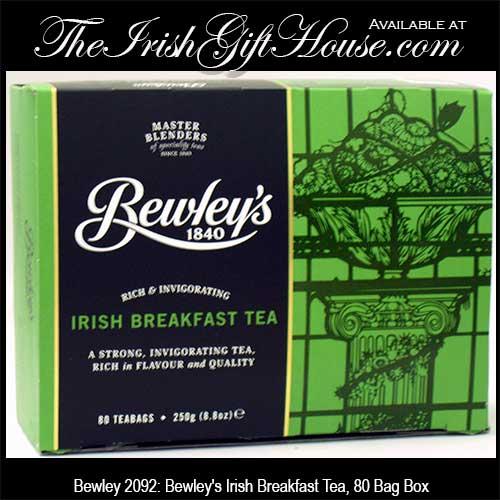 Bewley's Irish Breakfast Tea: 80 Bags - The Irish Gift House