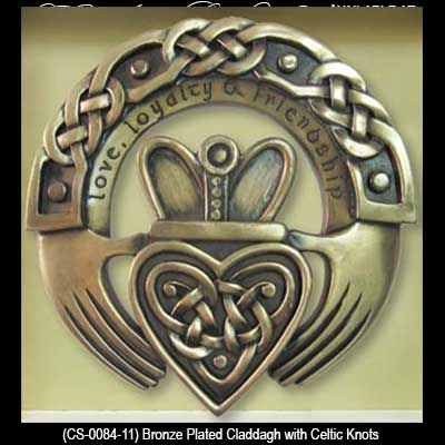 Claddagh Wall Plaque Irish Gifts