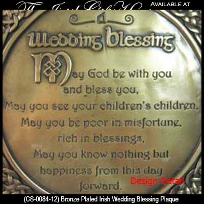 Bronze Irish Wedding Blessing Plaque Cs0084512 20160422017536 Trinity Knots
