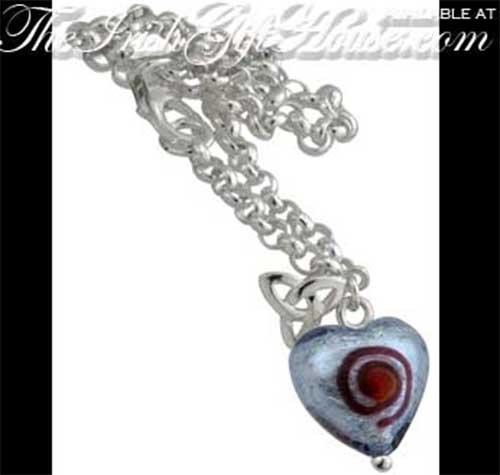 2e1c12f4ee260 Celtic Charm Bracelet - Sterling Silver - Trinity Knot - Spiral