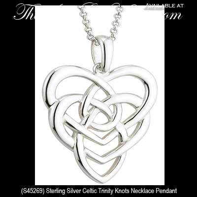 Celtic motherhood knot necklace in sterling silver celtic motherhood knot necklace sterling silver mozeypictures Gallery