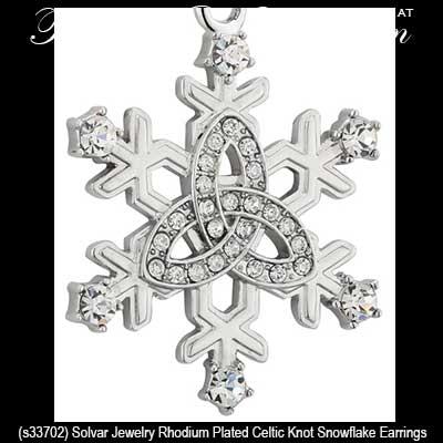 585eff261 Celtic Snowflake Earrings