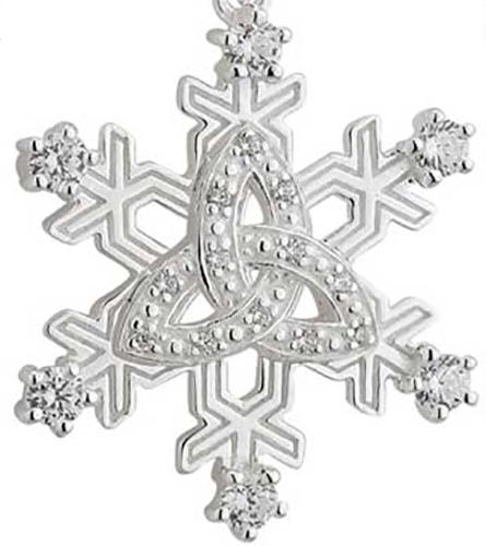 Celtic Star Snowflake Earrings