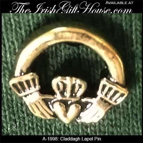 Tie or Lapel Pin: Irish Costume Jewelry - The Irish Gift House
