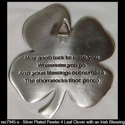 Irish Blessing Shamrocks