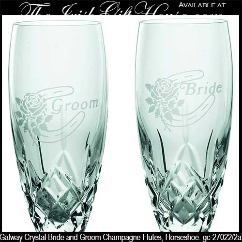 Galway Crystal Champagne Glasses