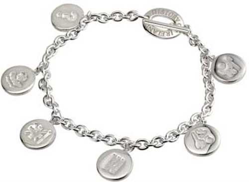 465ee1d8b History of Ireland Bracelet - Sterling Silver - Charm