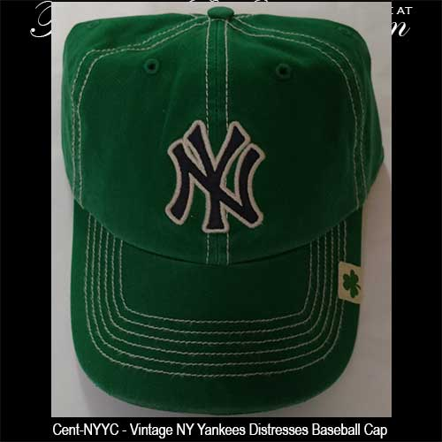 irish-caps-ny. Green Yankees Cap with a Shamrock 51ba52bb4fc