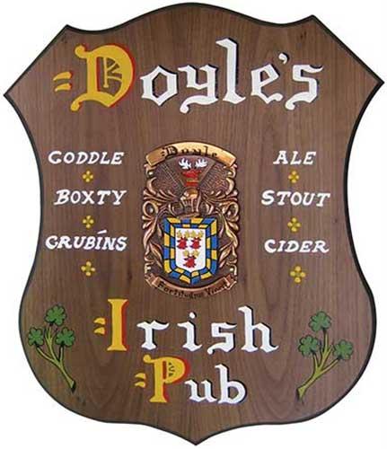 Irish Pub Signs