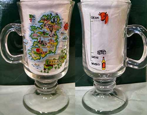 Irish Coffee Glasses Footed