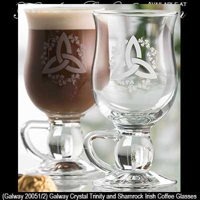 Vintage Irish Coffee Gles