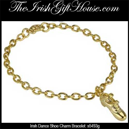 329b3d369ad1c Irish Dance Shoe Charm Bracelet
