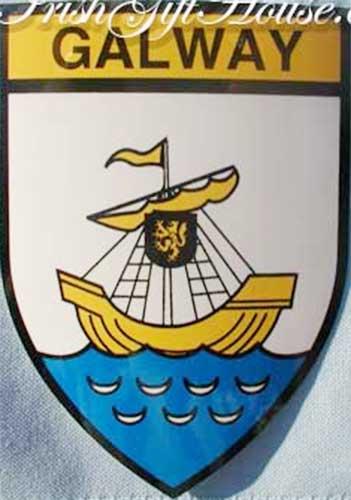 Waterford Irish County Crest Ireland Decal Sticker Shield  Badge Ireland