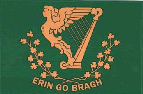 Irish Flag Decal Erin Go Bragh Fenian