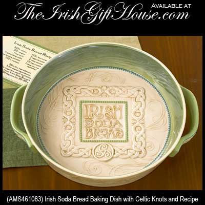 irish-dinnerware-baking-dish-soda-bread  sc 1 st  The Irish Gift House & Irish Baking Dish: Soda Bread