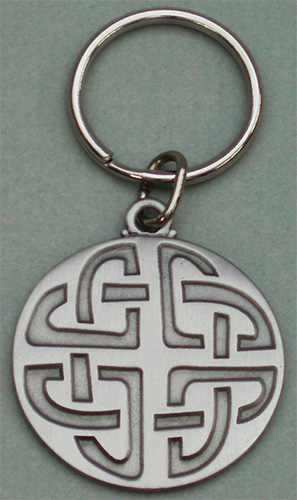 Beaded Celtic Knot Keychain Celtic key ring Celtic ornament