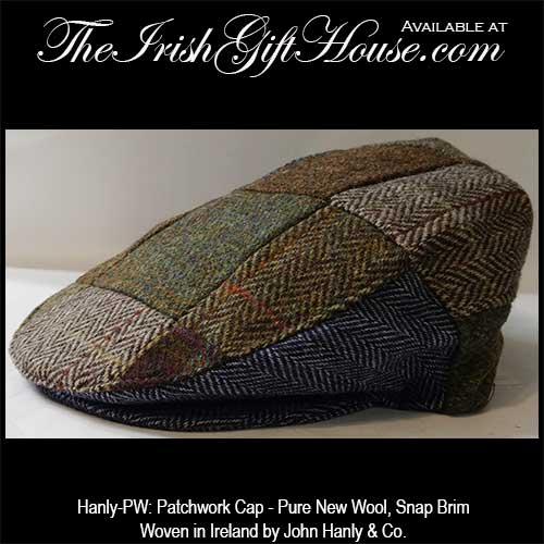 Irish Patch Cap: The Irish Gift House