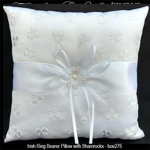 Irish Ring Bearer Pillow