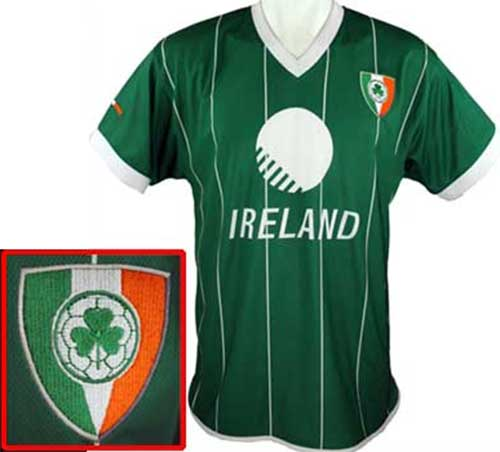 new style 29c79 c103a Irish Soccer Jersey - Shamrocks