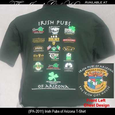 Irish Pubs of Arizona T-Shirt