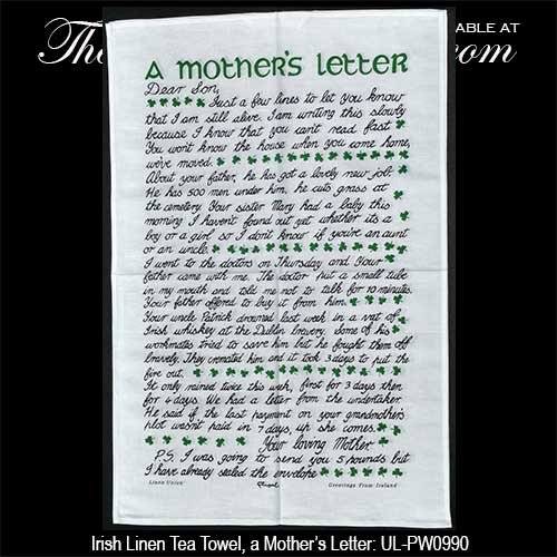 mother s letter to her son tea towel s letter 23700 | l irish tea towels mother%27s letter 20180425135535