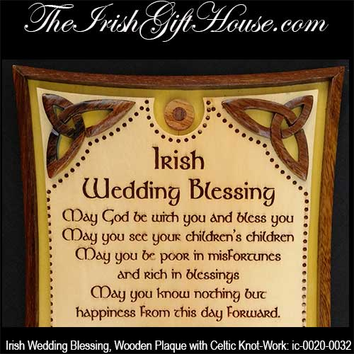 Irish Wedding Blessings