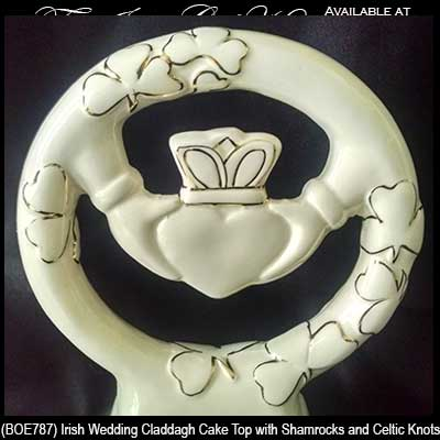 celtic wedding cake topper wedding cake topper claddagh 2526