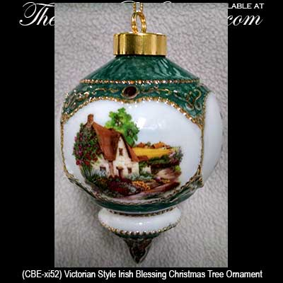 - Irish Blessing Christmas Ornament