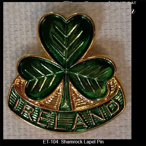 and Ireland Lapel Pin: Irish Costume Jewelry - The Irish Gift House