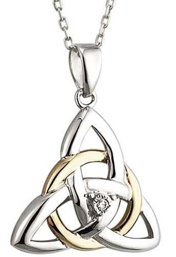 Sterling Silver Celtic Necklace.