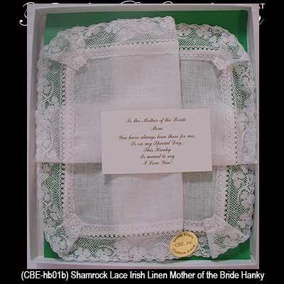 irish mother of the bride hankie irish wedding gifts irish wedding ...