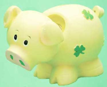 Shamrock Piggy Banks