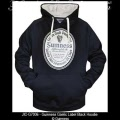 Guinness Gifts - Guinness Gaelic Label Black Hoodie Sweatshirt