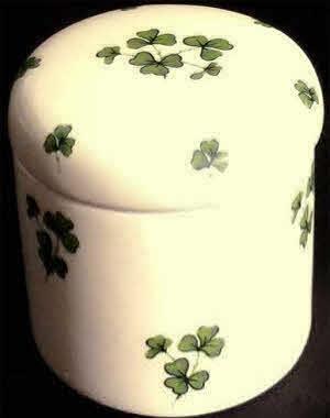 Ireland Flag Pendant Oval Trinket Jewelry Box