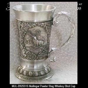 Pewter Whiskey Glasses: Mullingar Pewter - The Irish Gift House